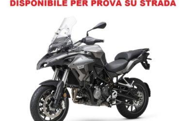 BENELLI TRK 502 PROVA SU STRADA